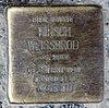 Stolperstein Hirschberger Str 2 (Rumbg) Hirsch Weissbrod.jpg
