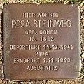 Stolperstein Horstmar Gossenstraße 1 Rosa Steinweg.jpg