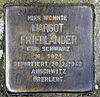 Stolperstein Richard-Sorge-Str 73 (Frhai) Margot Friedländer.jpg