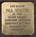 Stolperstein Westfälische Str 26 (Wilmd) Paul Schloss.jpg
