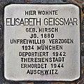 Stolperstein für Elisabeth Geissmar (Heidelberg).jpg