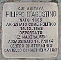 Stolperstein für Filippo D'Agostino (Rom).jpg
