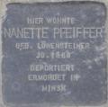 Stolperstein str pfeiffer nanette.png