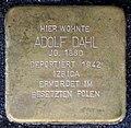 Stolpersteine Aachen, Adolf Dahl (Friedrichstraße 48).jpg