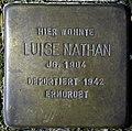 Stolpersteine Hürth, Alt-Hürth, Luise Nathan (Große Ölbruchstraße 29).jpg