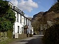 Stonethwaite. Langstrath Hotel and Eagle Crag in background - geograph.org.uk - 232579.jpg