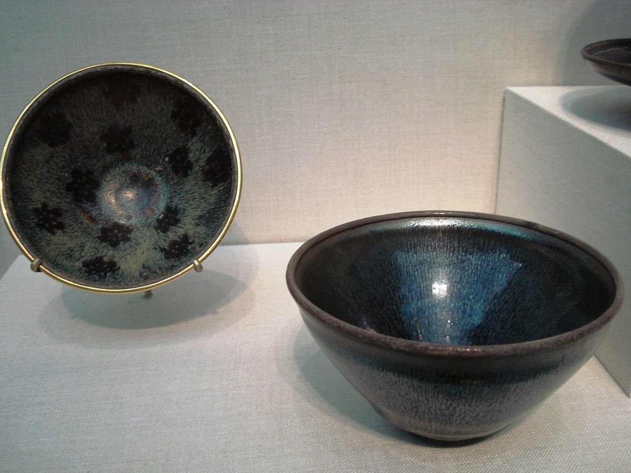 File Stoneware Tea Bowls Song Dynasty Jpg Wikipedia