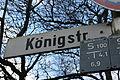 Straßenschild Königstraße (Flensburg), Bild 001.JPG