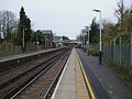 Strawberry Hill stn look south.JPG