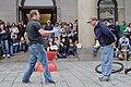 Street performer, Quincy Market (7208033618).jpg