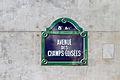 Street sign - Avenue des Champs-Élysées, Paris June 2014.jpg