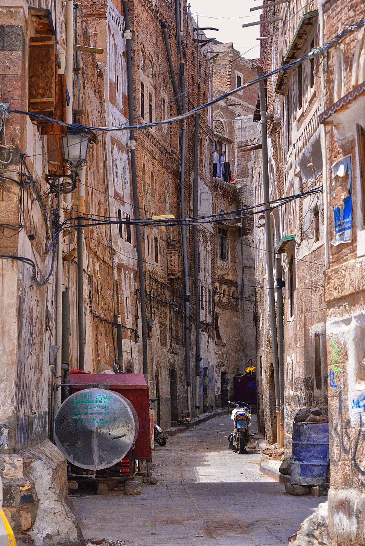 Streets of Sanaa, Yemen (10732822016)