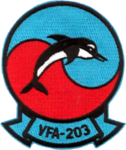Strike Fighter Squadron 203 (US Navy) insignia c1989.png