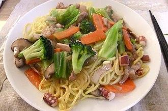 Chow mein - Subgum chow mein