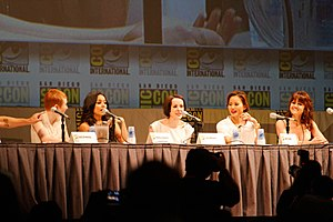 Sucker Punch (2011 film) - Cast of Sucker Punch at the 2010 San Diego Comic-Con International