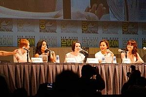 Sucker Punch (2011 film) - Cast of Sucker Punch at the 2010 San Diego Comic-Con International