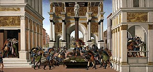 Sandro Botticelli, The Story of Lucretia 1496-...