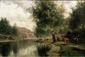 Summer Landscape (Edvard Bergh) - Nationalmuseum - 20138.tif