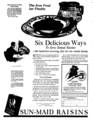 Sun-Maid Raisins newspaper 1921.png