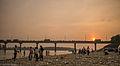 Sunset at Narayani Bridge -kandelvijaya.jpg