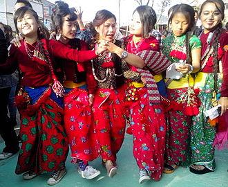 Sunuwar people - Image: Sunuwar girl