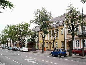 Edward Szczepanik - Kościuszko street, Suwałki.