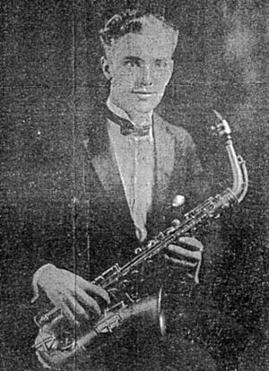 1940 in jazz - Einar Aaron Swan from newspaper article in Worcester Telegram 1927
