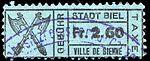 Switzerland Biel Bienne 1921 revenue 2.60Fr - 53.jpg