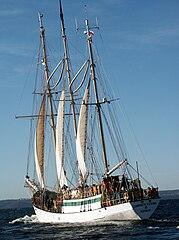 Zawisza Czarny II na Zatoce Gdańskiej
