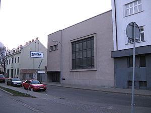 Otto Eisler - The synagogue (Agudat Achim) at Skořepka 13, designed by Eisler