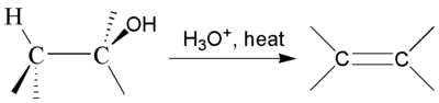 the synthesis of alkenes the dehydration Alkene synthesis reduction cis alkenes dehydration tertiary alcohols: an acid is used to remove the hydroxyl group, and a hydrogen atom on the most substituted.