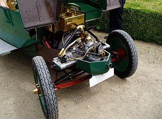 Tatra 11 - Image: T 11 engine
