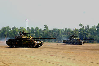 Bangladesh Army - Type 69 G2 Tank in the victory day Parade 2012 at National Parade Ground