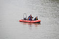 TCFD Fightfighters in Motor Inflatable Boat Patroling Keelung River 20150204.jpg