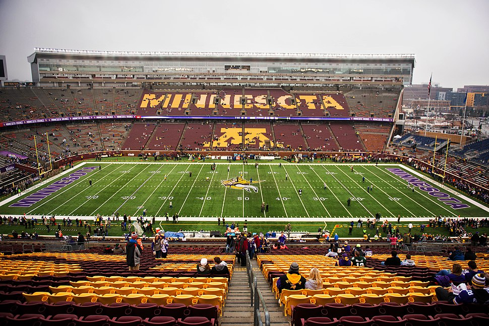 TCF Bank Stadium Vikings