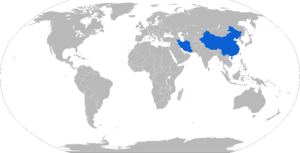 TL-6 - Map with TL-6 operators in blue