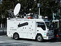 TV asahi, M01 Outside broadcasting van, ISUZU ELF 5th Gen,.jpg