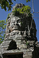 Ta Prohm - Gopura V Face-Tower (4203849314).jpg