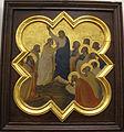 Taddeo gaddi, storie di cristo e di s. francesco (armadio di s. croce), 1335-40 ca. 13 s. tommaso.JPG