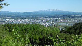 Kitaakita City in Tōhoku, Japan