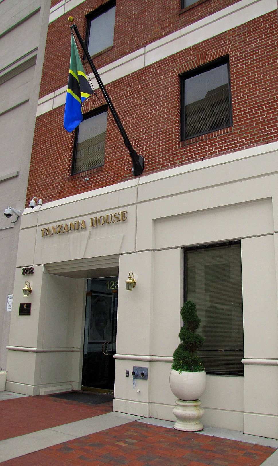 Tanzanian Embassy Washington