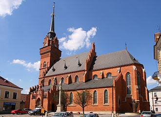 Tarnów - Polish Gothic-styled Cathedral located in the Old Town district