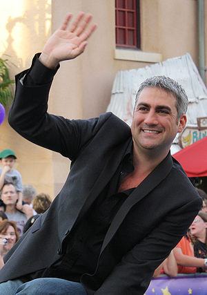 Taylor Hicks - Taylor Hicks in the American Idol motorcade at Walt Disney World
