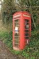 Telephone box, Powerstock (geograph 5476717).jpg