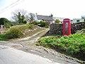 Telephone box at Hill Head - geograph.org.uk - 165888.jpg