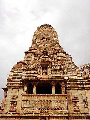 Chittorgarh district - Temple inside Chittorgarh fort