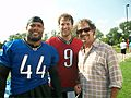 Terelle Smith & Matt Stafford with fan.jpg