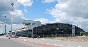 Łódź Władysław Reymont Airport - Image: Tereminal 3, Łódź Airport
