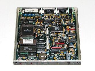 Terminal node controller - Image: Terminal Node Controller Kantronics 9612plus 0a