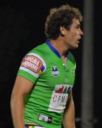 Terry Campese - Campese playing for the Raiders in 2008